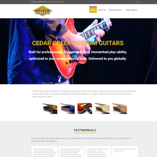 Cedar Creek Custom Guitars