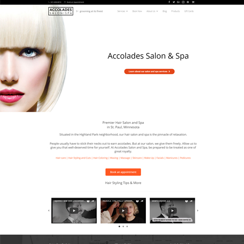 Accolades Salon Spa